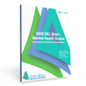 SSIS SEL Brief + Mental Health Scales Manual